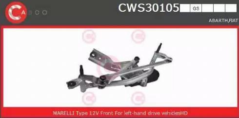 Casco CWS30105GS - Czyszczenie szyb intermotor-polska.com