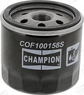 Champion COF100158S - Filtr oleju intermotor-polska.com
