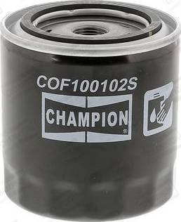 Champion COF100102S - Filtr oleju intermotor-polska.com