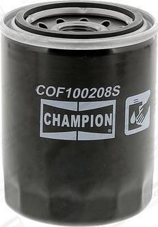 Champion COF100208S - Filtr oleju intermotor-polska.com