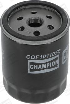 Champion COF101105S - Filtr oleju intermotor-polska.com