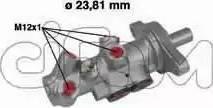 Cifam 202-295 - Pompa hamulcowa intermotor-polska.com