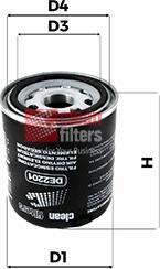 Clean Filters DE2201 - Wkład osuszacza powietrza, instalacja pneumatyczna intermotor-polska.com