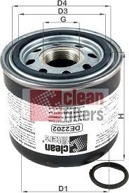 Clean Filters DE2202 - Wkład osuszacza powietrza, instalacja pneumatyczna intermotor-polska.com