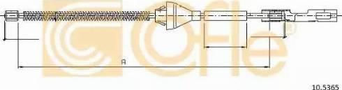 Cofle 10.5365 - Cięgno, hamulec postojowy intermotor-polska.com