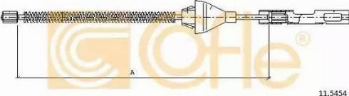 Cofle 11.5454 - Cięgno, hamulec postojowy intermotor-polska.com