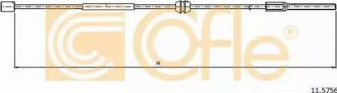 Cofle 11.5756 - Cięgno, hamulec postojowy intermotor-polska.com