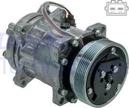 Delphi CS20491 - Kompresor, klimatyzacja intermotor-polska.com