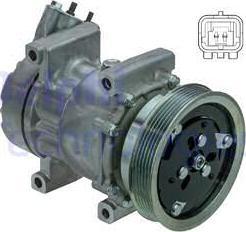 Delphi CS20523 - Kompresor, klimatyzacja intermotor-polska.com