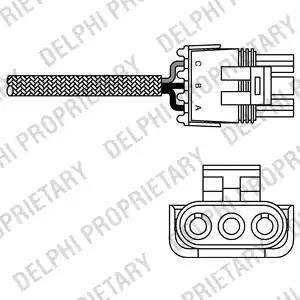 Delphi ES10990-12B1 - Sonda lambda intermotor-polska.com
