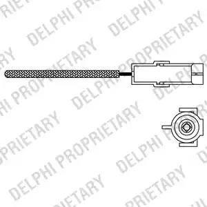 Delphi ES10966-12B1 - Sonda lambda intermotor-polska.com