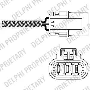 Delphi ES10456-12B1 - Sonda lambda intermotor-polska.com