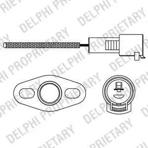 Delphi ES10226-12B1 - Sonda lambda intermotor-polska.com