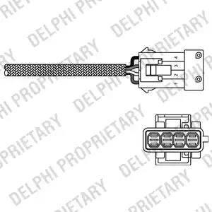 Delphi ES10795-12B1 - Sonda lambda intermotor-polska.com