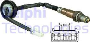 Delphi ES20630-12B1 - Sonda lambda intermotor-polska.com