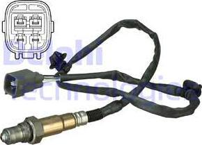 Delphi ES20631-12B1 - Sonda lambda intermotor-polska.com