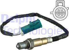 Delphi ES20629-12B1 - Sonda lambda intermotor-polska.com
