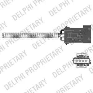Delphi ES20341-12B1 - Sonda lambda intermotor-polska.com