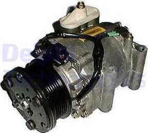 Delphi TSP0159310 - Kompresor, klimatyzacja intermotor-polska.com