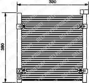 Delphi TSP0225422 - Skraplacz, klimatyzacja intermotor-polska.com