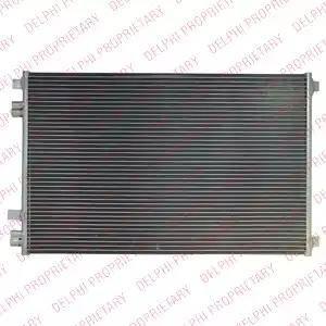 Delphi TSP0225541 - Skraplacz, klimatyzacja intermotor-polska.com