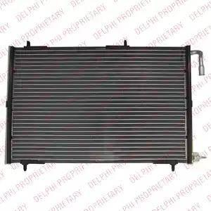 Delphi TSP0225617 - Skraplacz, klimatyzacja intermotor-polska.com
