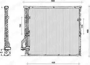 Delphi TSP0225014 - Skraplacz, klimatyzacja intermotor-polska.com