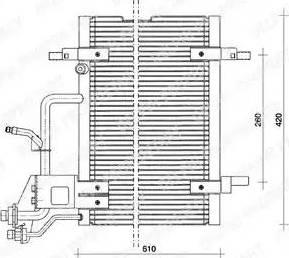 Delphi TSP0225011 - Skraplacz, klimatyzacja intermotor-polska.com