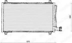 Delphi TSP0225125 - Skraplacz, klimatyzacja intermotor-polska.com
