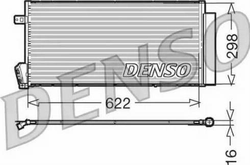 Denso DCN09018 - Skraplacz, klimatyzacja intermotor-polska.com