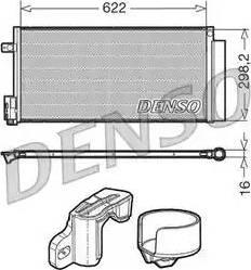 Denso DCN13110 - Skraplacz, klimatyzacja intermotor-polska.com