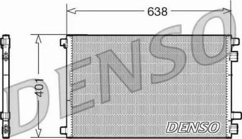 Denso DCN23012 - Skraplacz, klimatyzacja intermotor-polska.com
