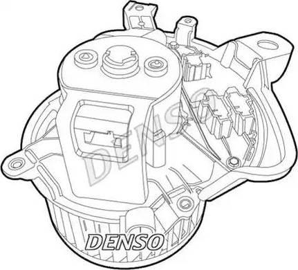 Denso DEA01011 - Wentylator wnętrza intermotor-polska.com