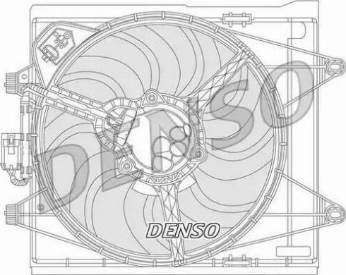 Denso DER09051 - Wentylator, chłodzenie silnika intermotor-polska.com