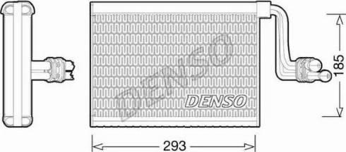Denso DEV05002 - Parownik, klimatyzacja intermotor-polska.com