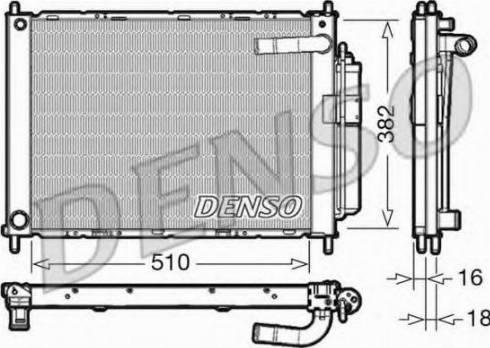 Denso DRM46101 - Moduł chłodzący intermotor-polska.com