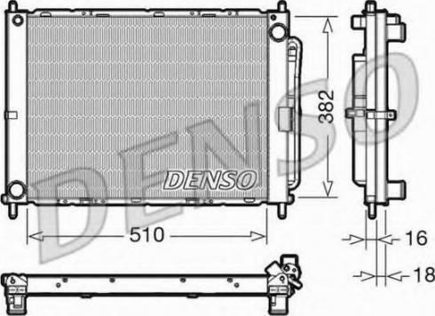 Denso DRM46102 - Moduł chłodzący intermotor-polska.com