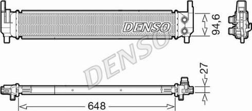 Denso DRM02042 - Chłodnica, układ chłodzenia silnika intermotor-polska.com