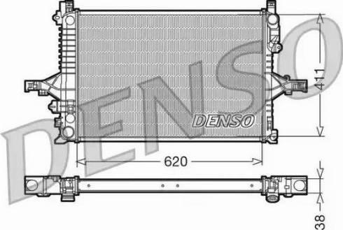 Denso DRM33065 - Chłodnica, układ chłodzenia silnika intermotor-polska.com