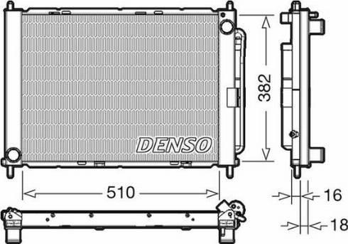 Denso DRM23104 - Moduł chłodzący intermotor-polska.com