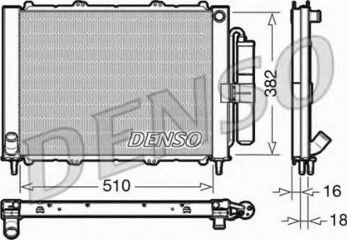 Denso DRM23103 - Moduł chłodzący intermotor-polska.com