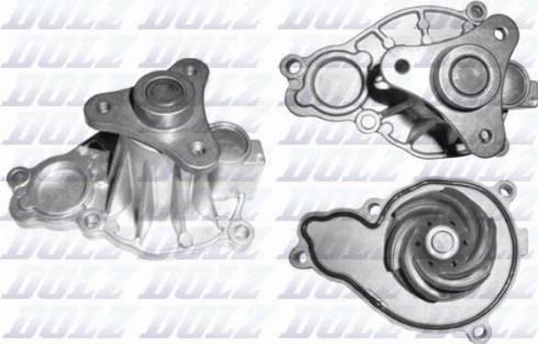 DOLZ B256 - Pompa wodna intermotor-polska.com