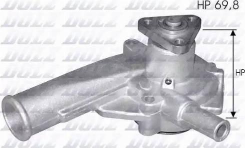 DOLZ F137 - Pompa wodna intermotor-polska.com