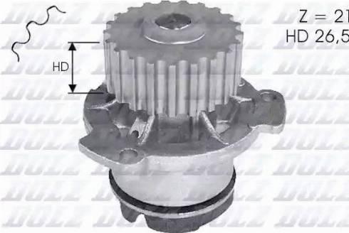 DOLZ L121 - Pompa wodna intermotor-polska.com