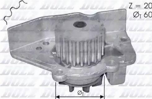 DOLZ N405 - Pompa wodna intermotor-polska.com