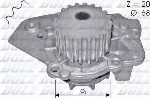 DOLZ N206 - Pompa wodna intermotor-polska.com