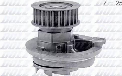 DOLZ O137 - Pompa wodna intermotor-polska.com