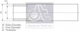 DT Spare Parts 9.86004 - Rura intermotor-polska.com