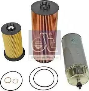 DT Spare Parts 4.92106 - Zestaw filtra intermotor-polska.com