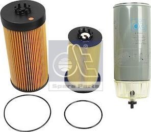 DT Spare Parts 4.92107 - Zestaw filtra intermotor-polska.com